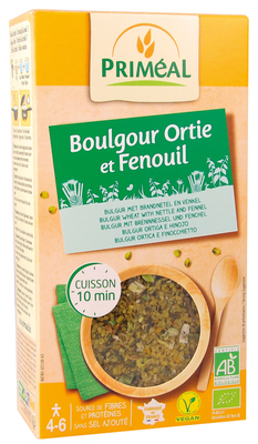 Boulgour ortie  fenouil 300g