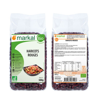 Haricots rouges kidney 500g