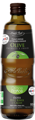 Huile olive vierge extra France 50cl