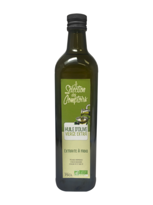 Huile d'olive vierge extra bio 75cl