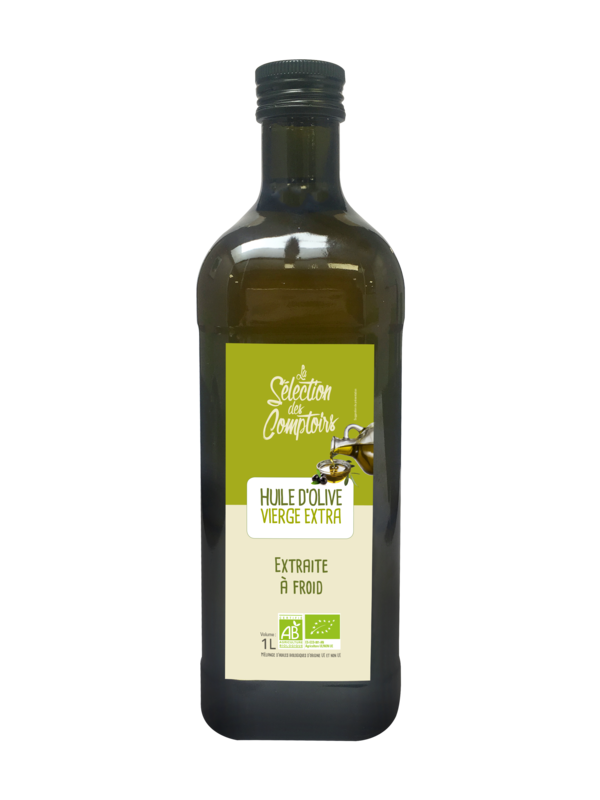 Huile d'olive vierge extra bio 1l