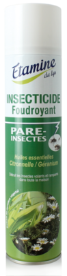 Insecticide foudroyant citronnelle