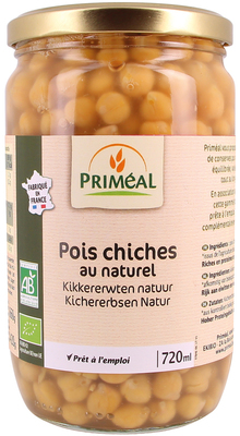 Pois chiches au naturel 720ml