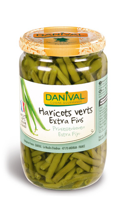 Haricots verts extra fins France 660 g