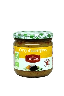 Curry d'aubergines 345g