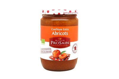 Confiture extra abricots 65% fruits 730g