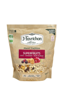 Muesli tradition superfruits 500g