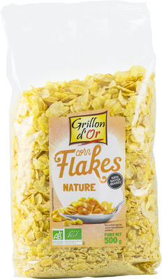Corn flakes nature sans sucre 500g