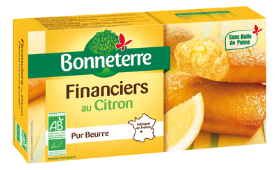 Financiers au citron pur beurre