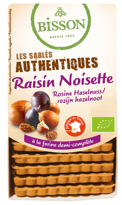 Authentiques raisin noisette 175g
