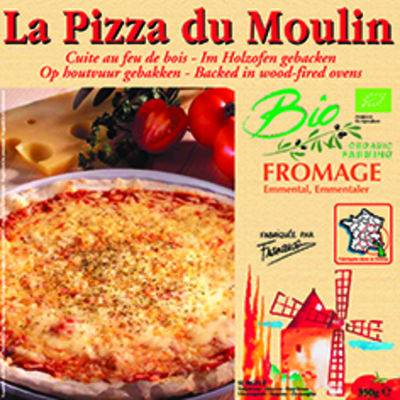 Pizza fromage 350g