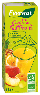 Cocktail multifruits 1 L