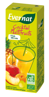 Cocktail multifruits 0,2 L