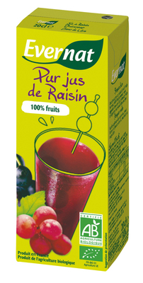 100% pur jus de raisin 20 cl
