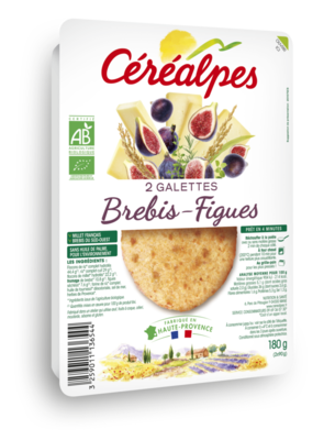 Galettes brebis - figues