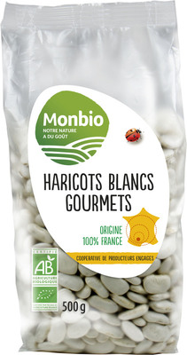 Haricots blancs gourmets France 500g