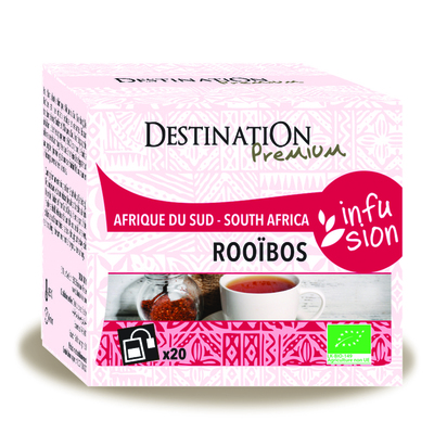 Rooibos nature bio 20 infusettes