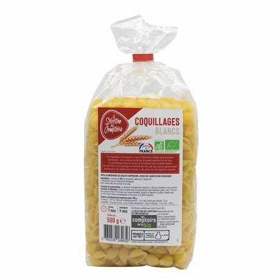 Coquillages blancs 500g