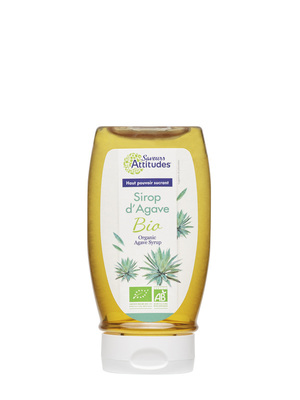 Sirop d'agave bio squeezable 360g